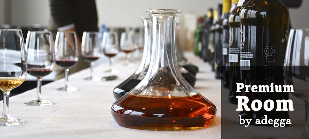 26 dos melhores vinhos de portugal na sala premium