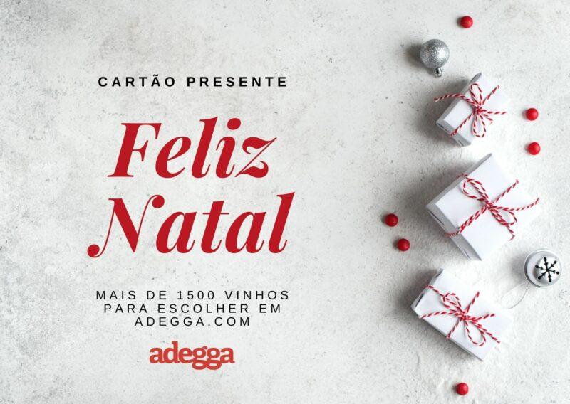 Cartão Presente Feliz Natal