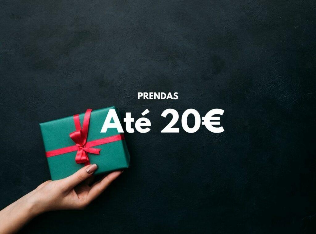 As melhores prendas de natal até 20€