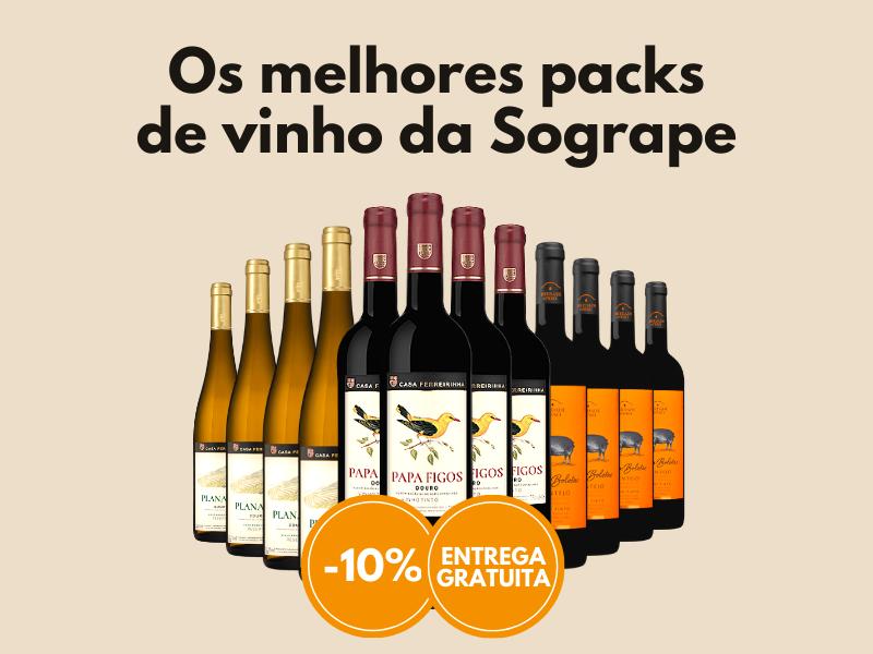 Os melhores packs de vinho da Sogrape